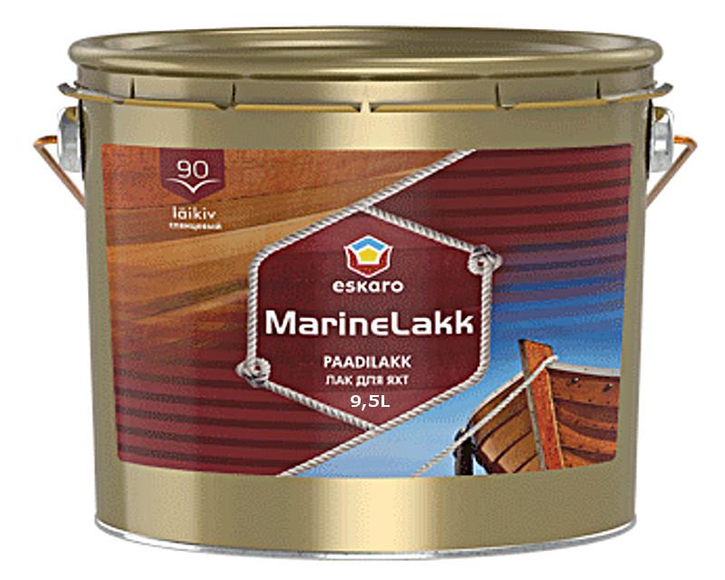 Лак алкид-уретановый ESKARO MARINE LAKK 90  яхтовый 9.5л