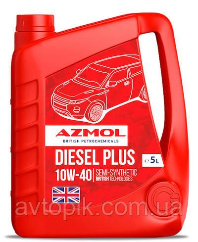 Моторное масло AZMOL Diesel Plus 10W-40 (5л.)