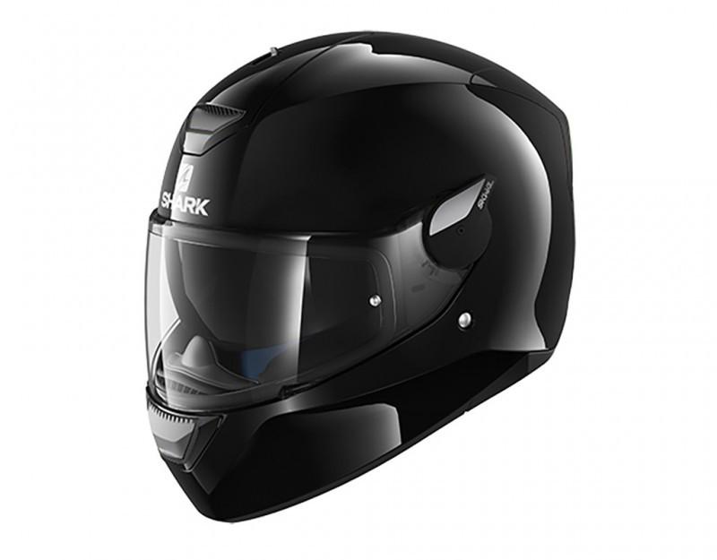 Шлем Shark D-skwal Blank р.L, черный глянец