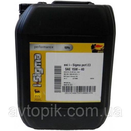 Моторное масло ENI I-Sigma Perfomance E3 15W-40 (20л.)