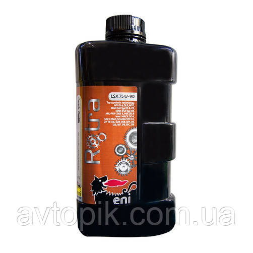 Трансмиссионное масло ENI Rotra LSX GL-4/GL-5 75W-90 (1л.)