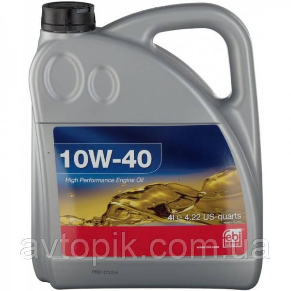 Моторное масло FEBI 10W-40 (4л.)