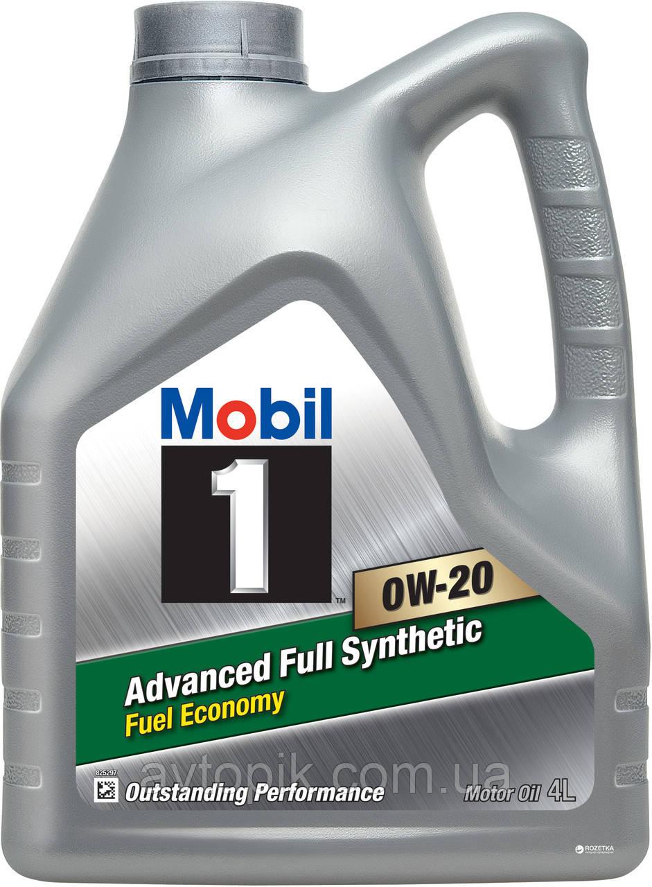 Моторное масло Mobil SN/CF A1/B1, ILSAC GF5 0W-20 (4л.)