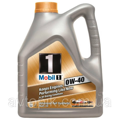 Моторное масло Mobil1 SN/CF A3/B3 0W-40 (4л.)