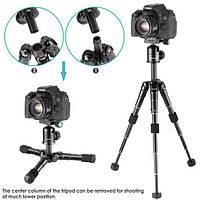 Штатив для фотоаппарата NEEWER компактный 13,5-50 см +360-градусная шариковая головка, фото 1