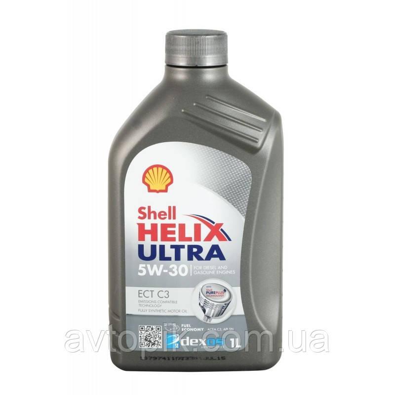 Моторное масло Shell Helix Ultra ECT С3 SN/CF 5W-30 (1л.)