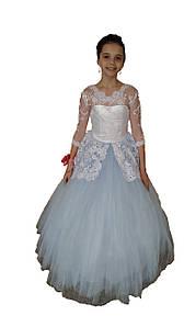 Бальное платье Голубая Фея