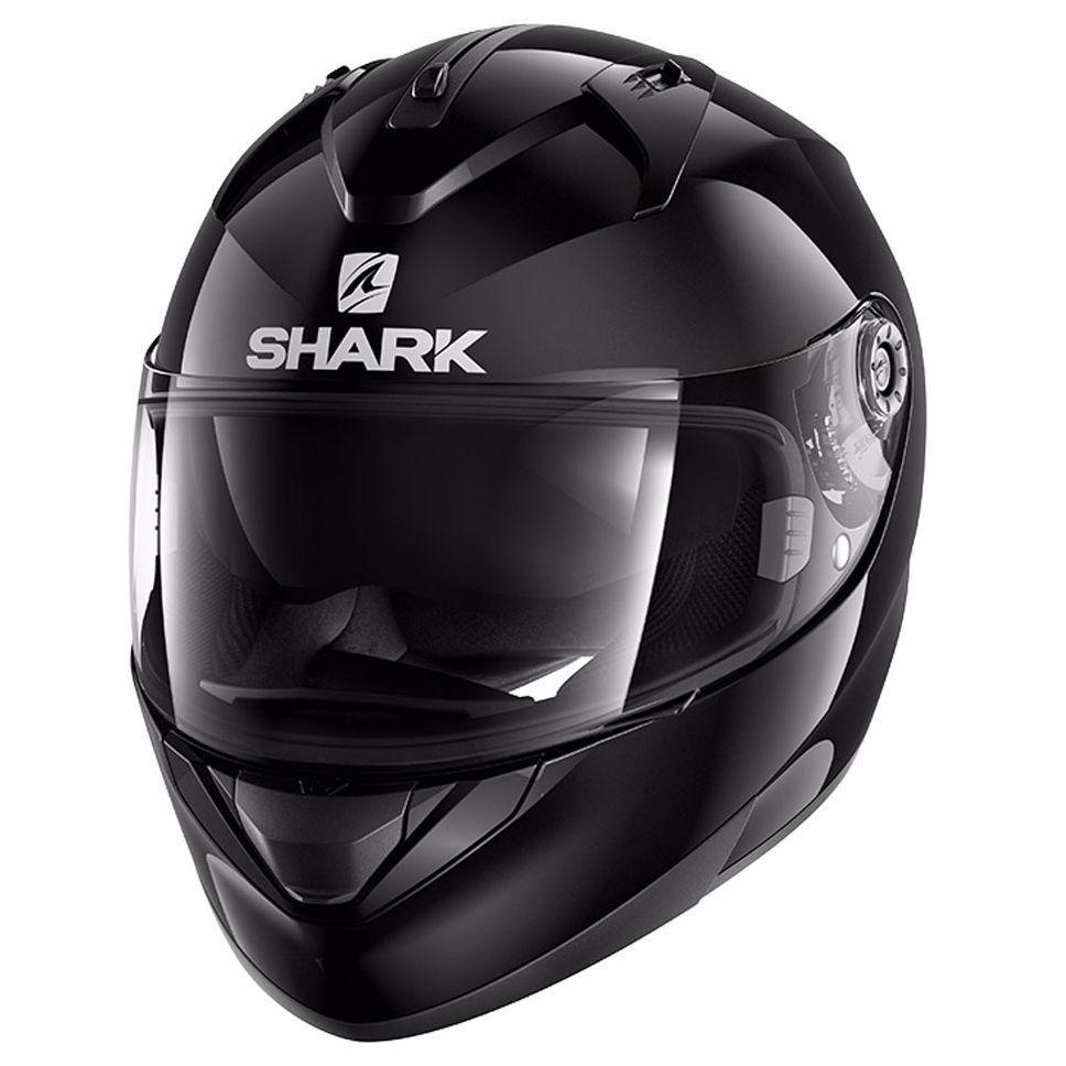 Шлем Shark Ridill Blank р.M, черный глянец