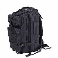 Тактический штурмовой военный рюкзак 45л портфель черный