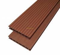 Террасная доска ДПК Gamrat  160х25х3000мм цвет светло-коричневый