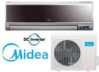 Midea MSV1-09HRDN1 HB, VERTU, DC Inverter R 410, кондиционер настенный, до 25 м2, фото 1
