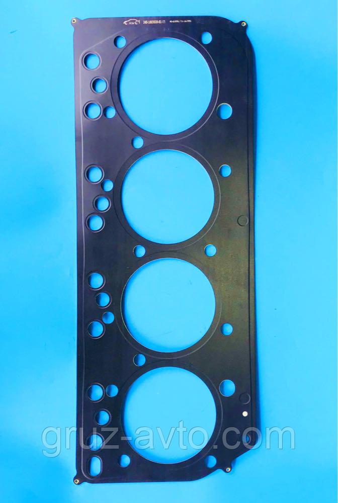 Прокладка головки блока цилиндров  для двигателя ММЗ 240-245/ металлическая 3-х слойная h-2 mm  / Беларусь