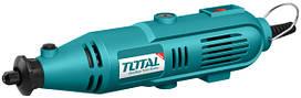 Мини-шлифовальная машина TOTAL TG501032 130Вт, аксессуары, кейс