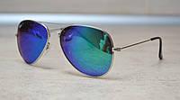 Cолнцезащитные очки Ray Ban Aviator поляризованные 3026 W3279 3N  (реплика)