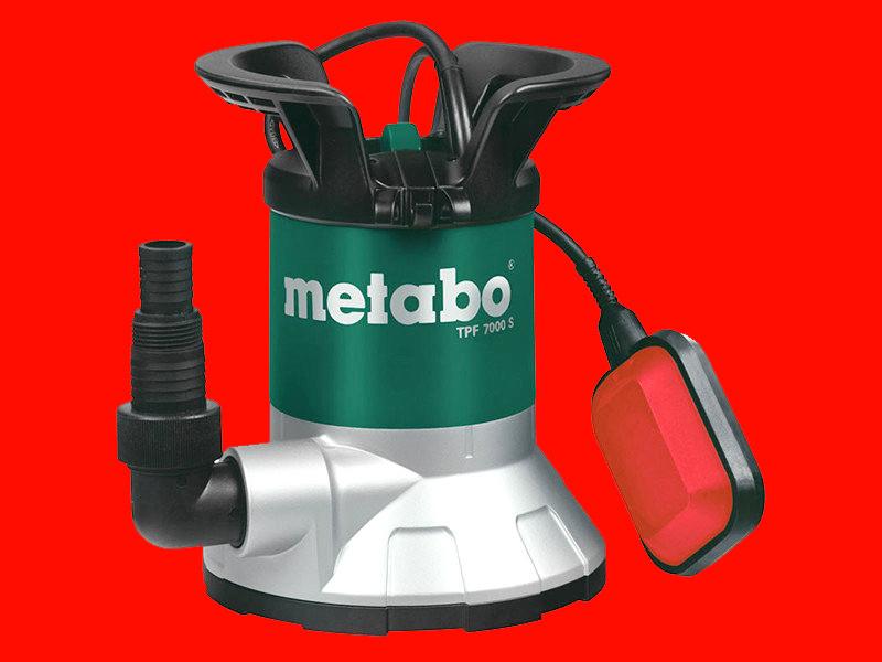 Дренажный насос для чистой воды Metabo TPF 7000S