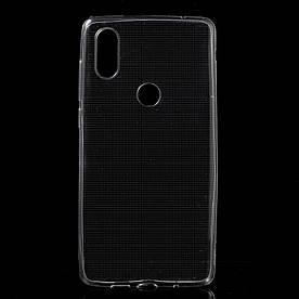 Чехол накладка для Xiaomi Mi 6X   Xiaomi Mi A2 силиконовый ультратонкий, Air Case Прозрачный