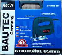 Лобзик BAUTEC BPS 650E-SET (чемодан)