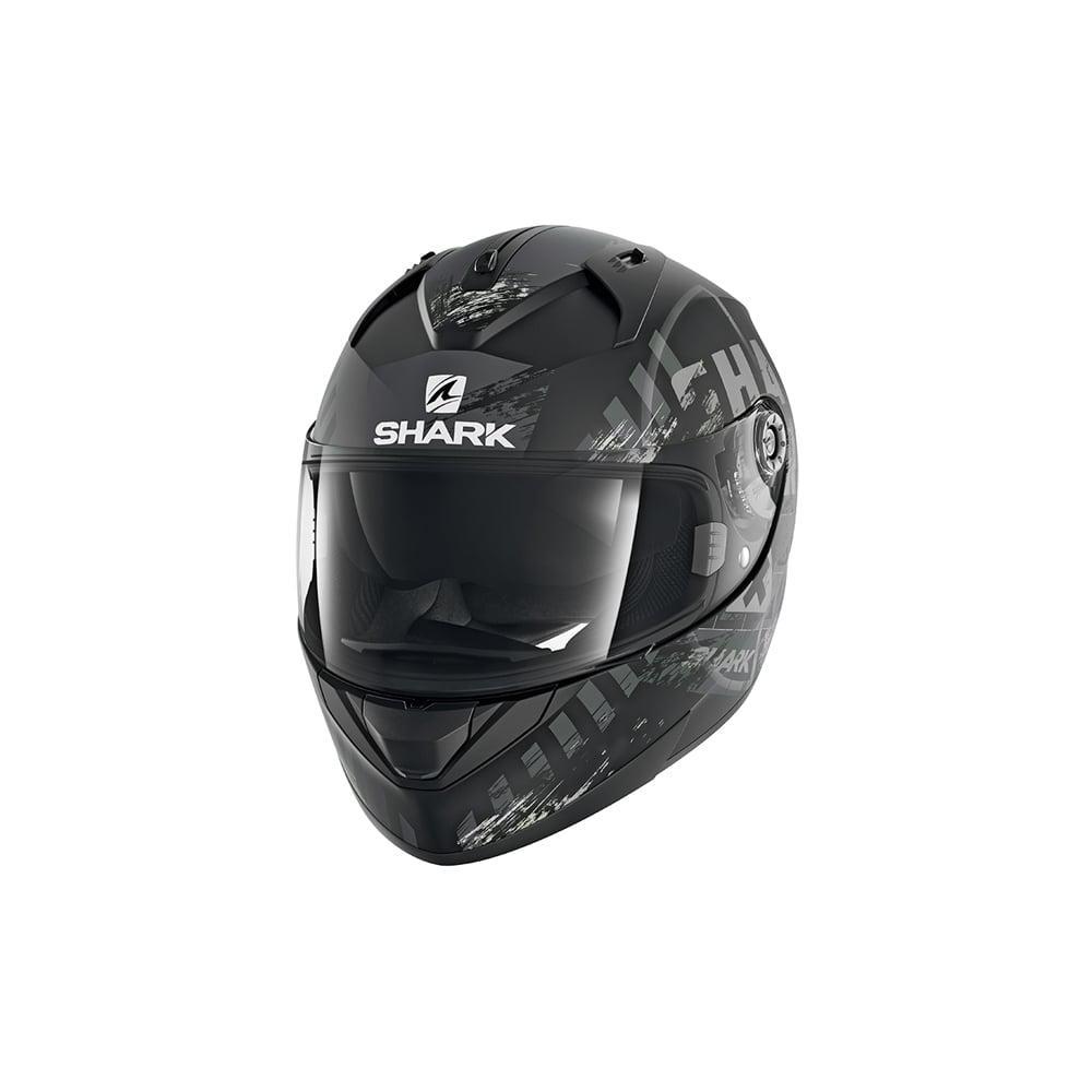 Шлем Shark Ridill Skyd р.XL, черно-белый