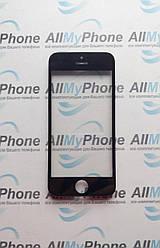 Стекло корпуса Apple iPhone 5С с рамкой / OCA пленкой / черное