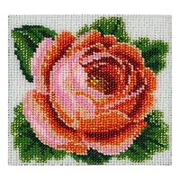 """Cхема для вышивки бисером  """"Роза"""" Т-0625"""
