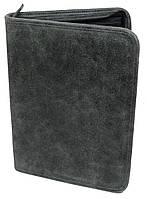 Папка из натуральной кожи A-art TS1003-1 серая