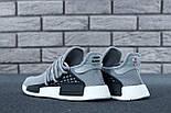 Кросівки Adidas NMD Pharrell Williams x 'Human Race' Grey. B Живе фото (Репліка ААА+), фото 3