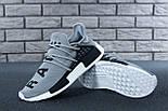 Кросівки Adidas NMD Pharrell Williams x 'Human Race' Grey. B Живе фото (Репліка ААА+), фото 4