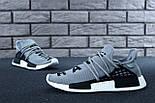 Кросівки Adidas NMD Pharrell Williams x 'Human Race' Grey. B Живе фото (Репліка ААА+), фото 5