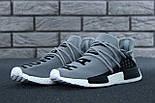 Кросівки Adidas NMD Pharrell Williams x 'Human Race' Grey. B Живе фото (Репліка ААА+), фото 6
