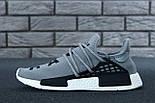 Кросівки Adidas NMD Pharrell Williams x 'Human Race' Grey. B Живе фото (Репліка ААА+), фото 7