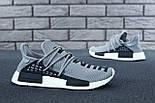 Кросівки Adidas NMD Pharrell Williams x 'Human Race' Grey. B Живе фото (Репліка ААА+), фото 8