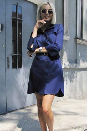Модное летнее платье рубашка, фото 2