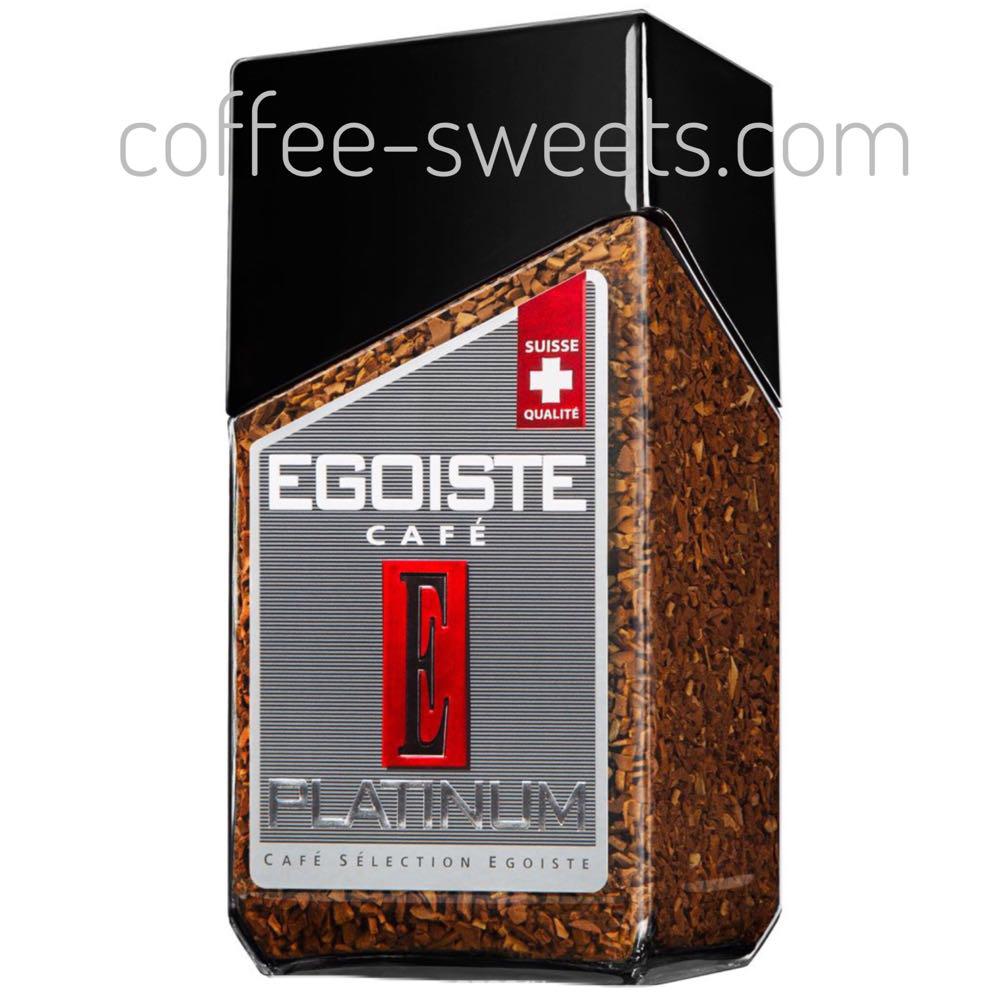 Кофе растворимый Egoiste Platinum  с/б 100g