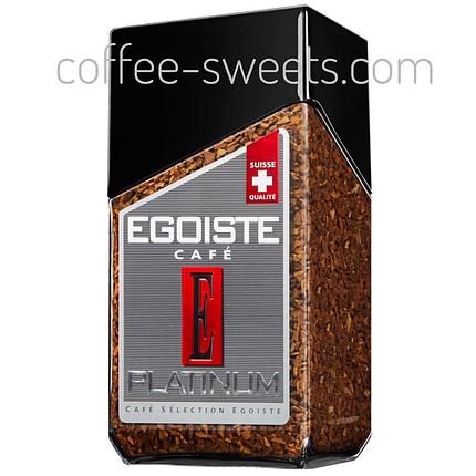 Кофе растворимый Egoiste Platinum  с/б 100g, фото 2