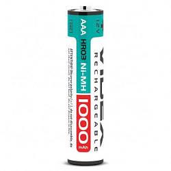Аккумулятор ААА аккумуляторные батарейки Videx AAA 1000 mAh 2 шт