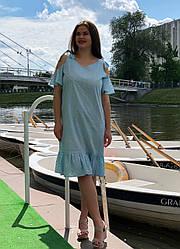 Платье больших размеров из прошвы Молли