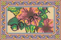 Схема для вышивки бисером «Гибискус»