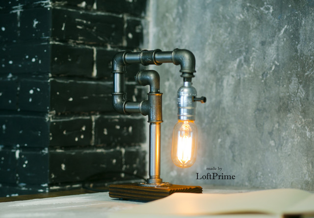 Настольная лампа  стиле лофт T_9.1