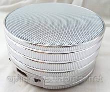 Bluetooth портативная колонка (USB, micro-SD), BO-B16, серебристая