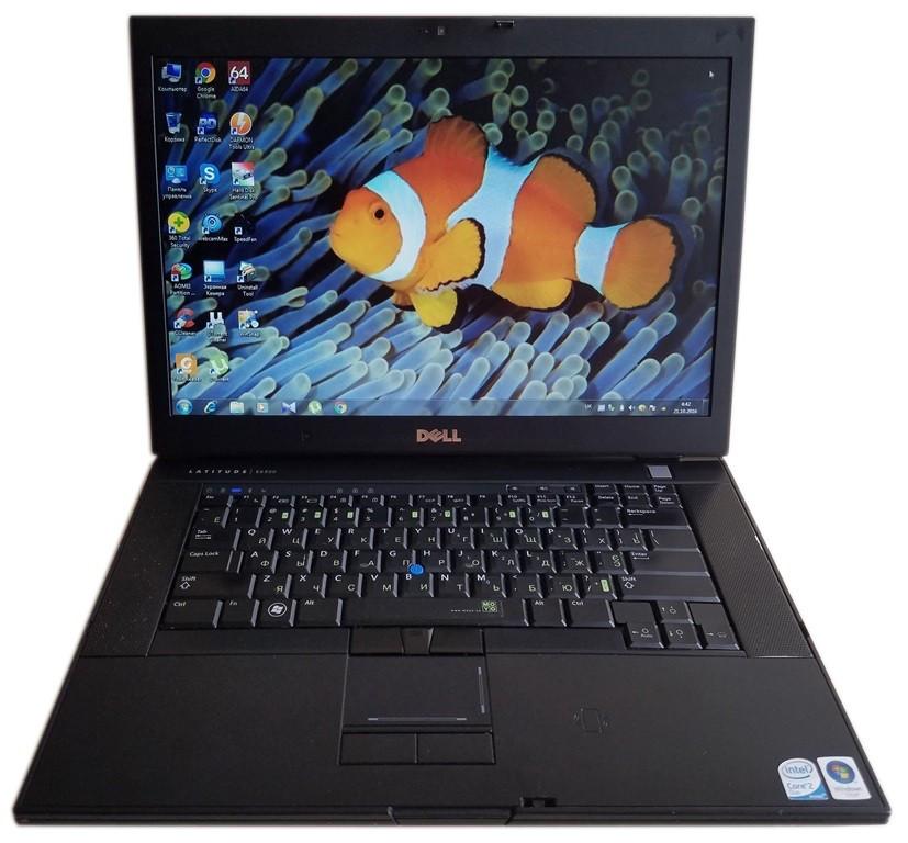 Ноутбук Dell Latitude E6500 NVIDIA 15