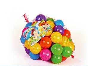 Цветные шарики для сухого бассейна MToys