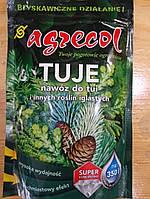 Удобрение Agrecol для туй и других хвойных, 350 г