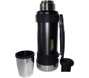Термос фирмы (Thermos) вакуумный 1.2 л Work liter svart (180010)