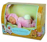 Кукла Анны Геддес (Anne Geddes) Зайка розовый 23 см, фото 1