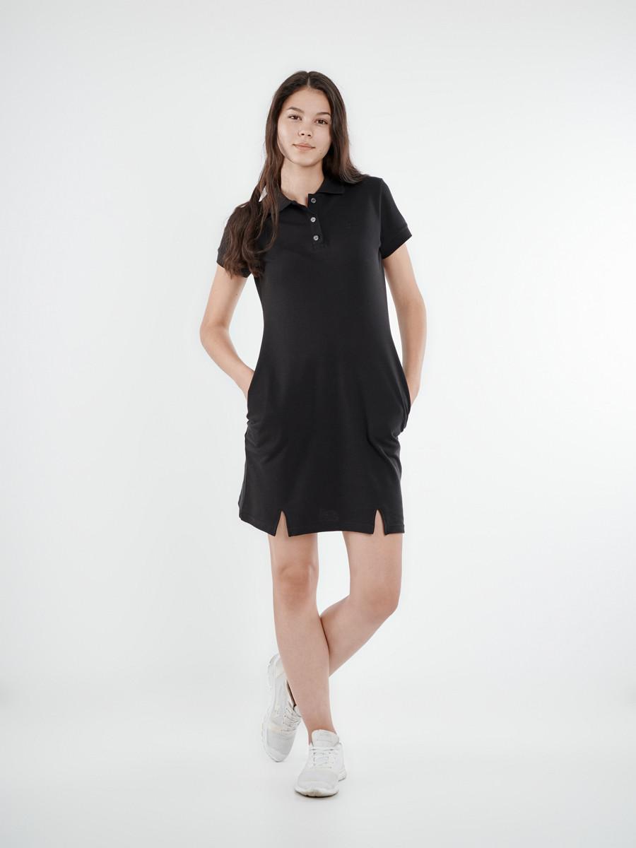 74c24f609af Модное платье поло летнее черное BLK Urban Planet (платья