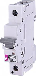 Автоматичний вимикач ETIMAT P10 DC 10 кА 4A 1P кат.C