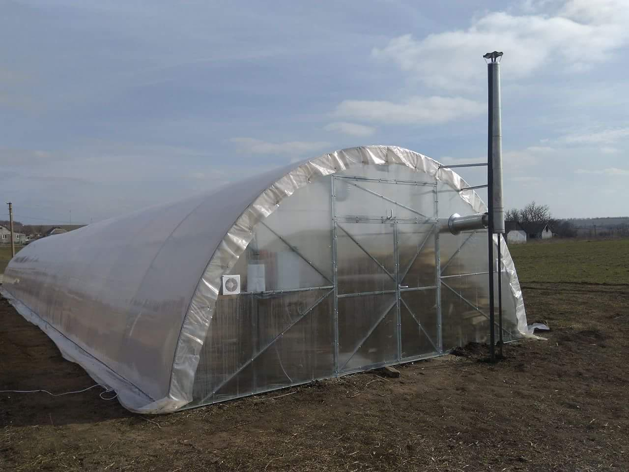 "Фермерская теплица ""Урожай"" 6х80 под двухслойную плёнку"