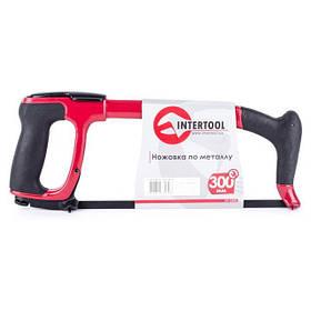 Ножовка по металлу 300мм обрезиненная рукоятка [HT-3306] (HT-3306 Intertool)