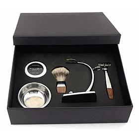 Бритвений набір Le Bourgeois в подарунковій коробці NR0014