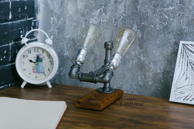 Настольная лампа  стиле лофт T_12.1